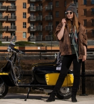 Fashion Photography for Lambretta